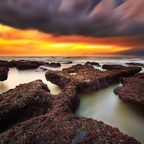 dragon valley by Agus Adi - Landscapes Beaches ( #beautyfull #sky #amazing #sunset #bali #awesomepict )