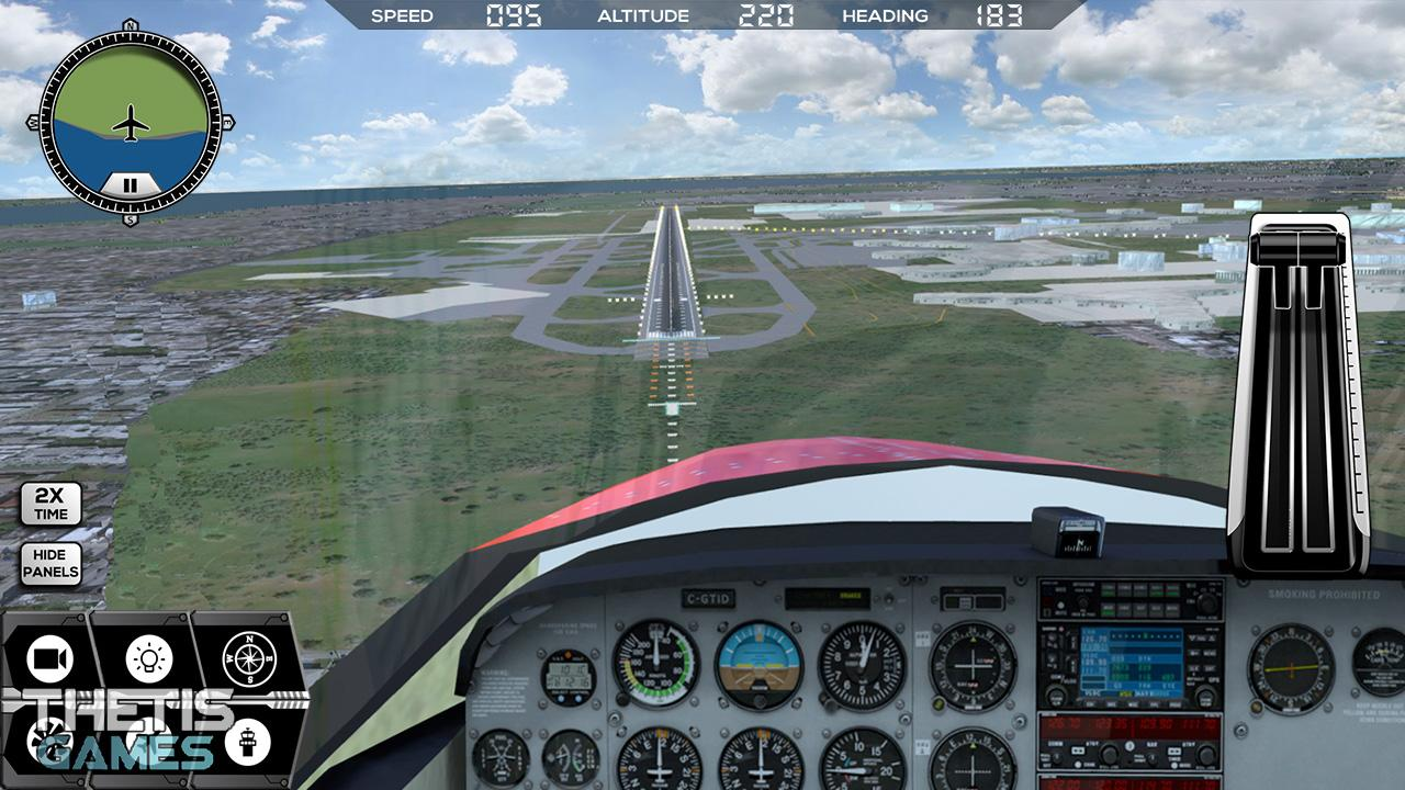 Flight Simulator FlyWings 2017 Screenshot 1