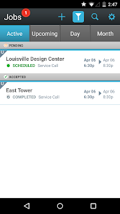 eVance Service Manager - screenshot