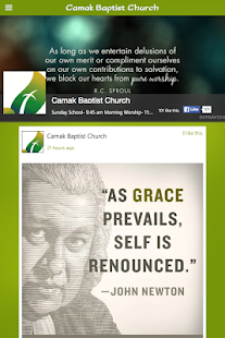Camak Baptist Church - screenshot