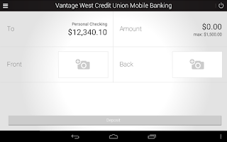 Screenshot of Vantage West Credit Union