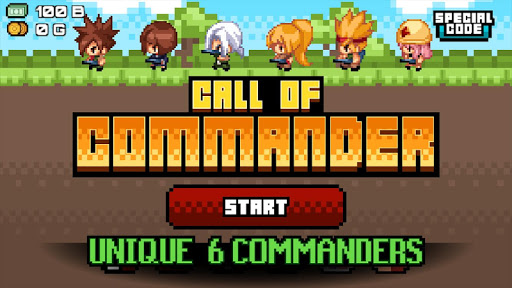 Call of Commander - screenshot