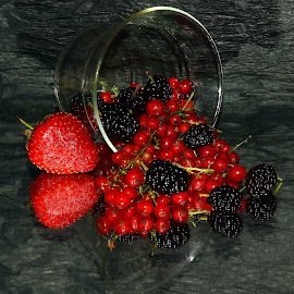 red and black by LADOCKi Elvira - Food & Drink Fruits & Vegetables