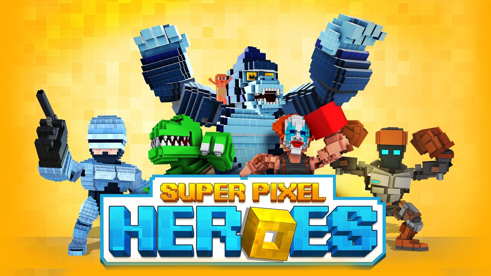 Super Pixel Heroes Screenshot 0