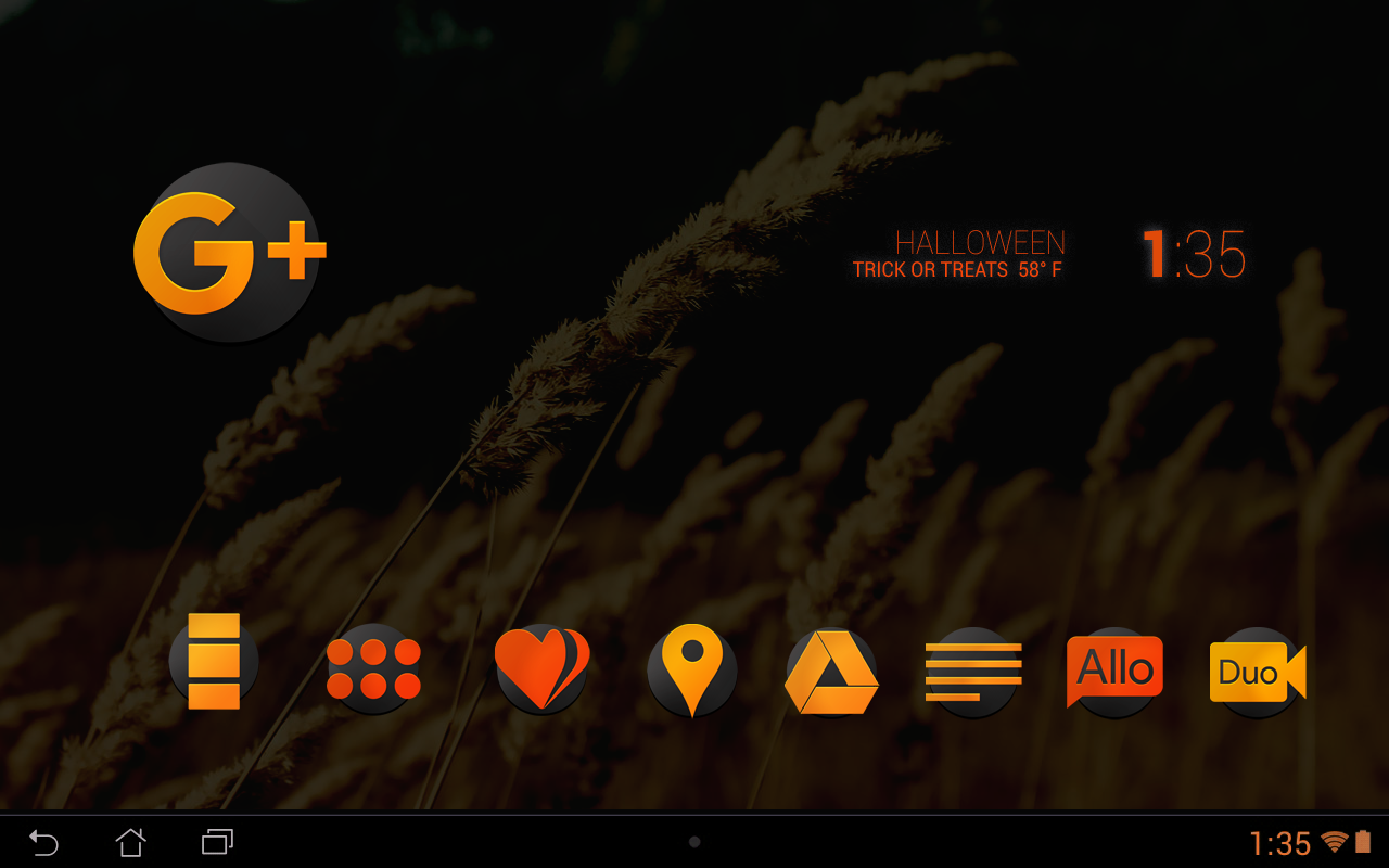 ORANGE - Icon Pack Screenshot 3