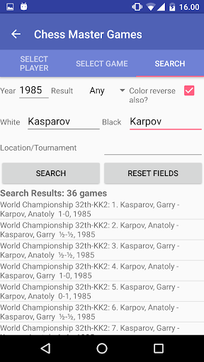 Chess Master Games Pro - screenshot