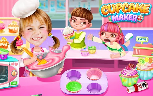 Free Download Cupcake Maker! Rainbow Chef APK for Samsung