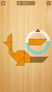 Tangram Animals - screenshot