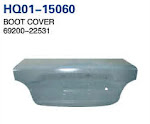 Accent 1998 Trunk Lid, Boot Cover, Trunk Lid Cover (69200-22531)