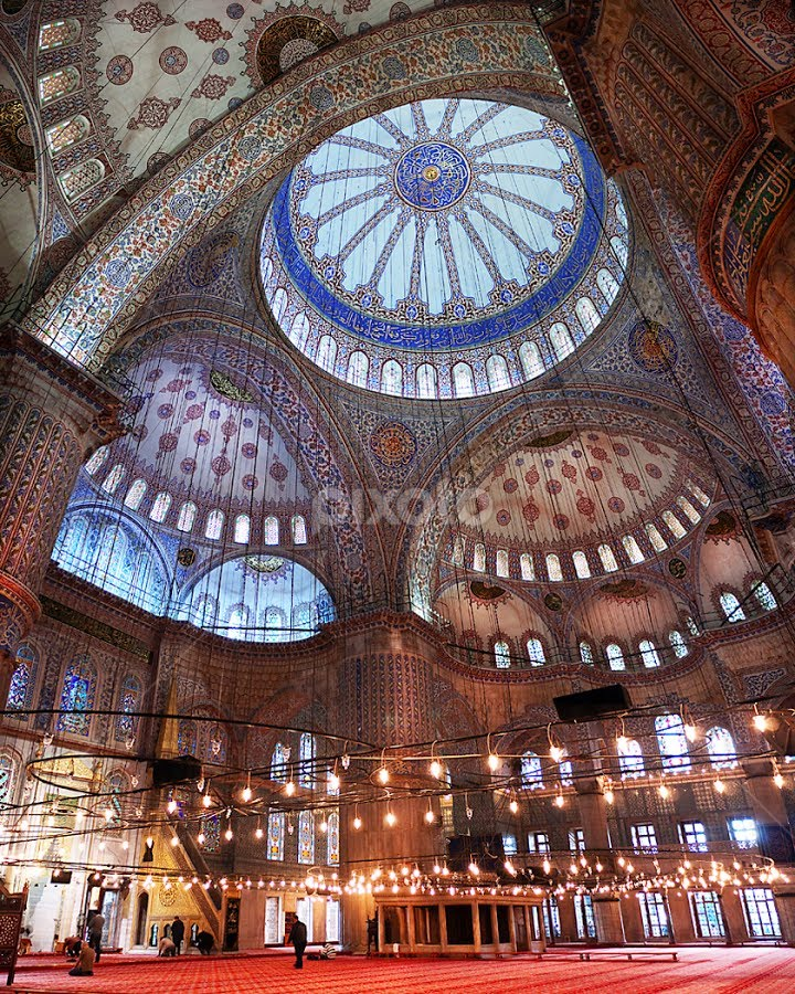 Blue Mosque by Marianna Armata - Buildings & Architecture Other Interior ( building, interior, worship )
