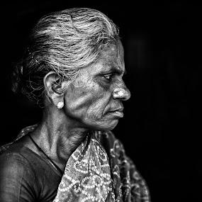 by Ravikanth Kurma - People Portraits of Women ( Emotion, portrait, human, people )