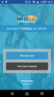 Onelife Fitness Fitness app screenshot for Android