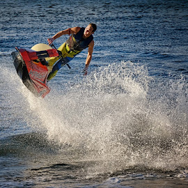 Balance by Ferdinand Ludo - Sports & Fitness Other Sports ( fly in the air, wow, goldcoast, jet ski demo, sea world )
