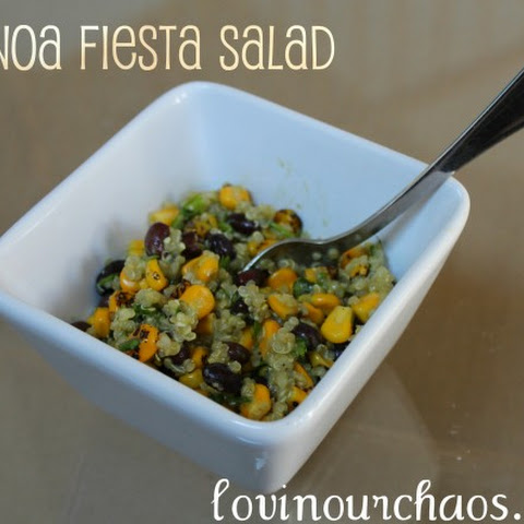 Quinoa Fiesta Salad ~ Simple Meals