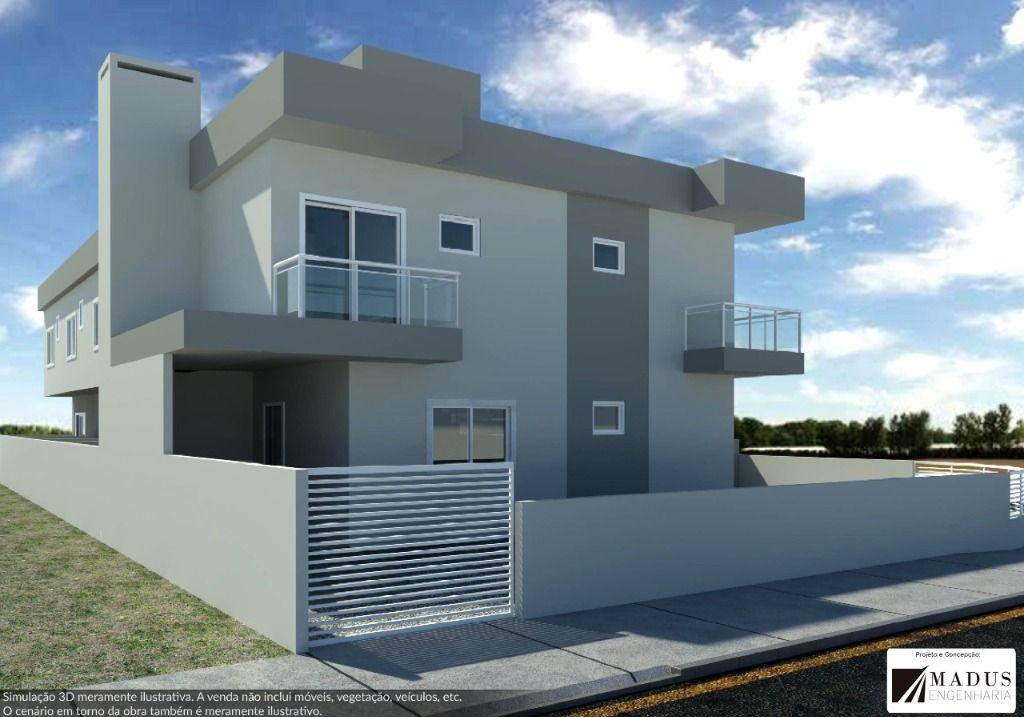 Sobrado com 2 dormitórios à venda, 65 m² por R$ 230.000 - Mata Atlântica - Tijucas/SC