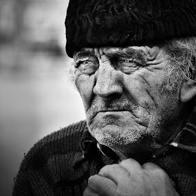 Old man by Mladjan Pajkic - People Portraits of Men