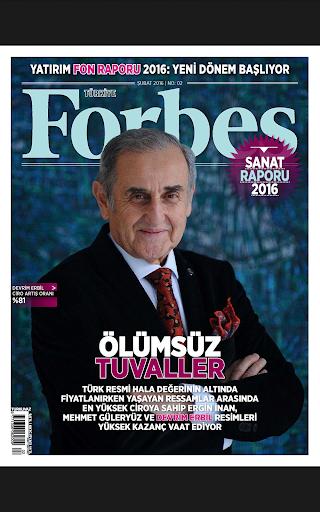 Forbes Türkiye - screenshot