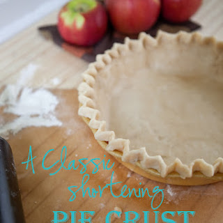 Vegetable Shortening Pie Crust