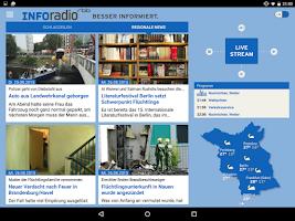 Screenshot of Inforadio