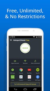 Free VPN -Hotspot Shield Basic APK for Bluestacks