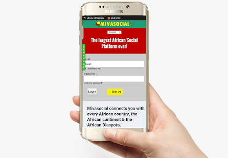 MNaija Nigerian Social Network - screenshot