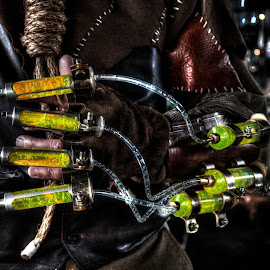 Biotech at the Steampunk Carnivale by Joshua Winstead - Artistic Objects Clothing & Accessories ( scarecrow, joshuawinsteadphotography, steampunk )