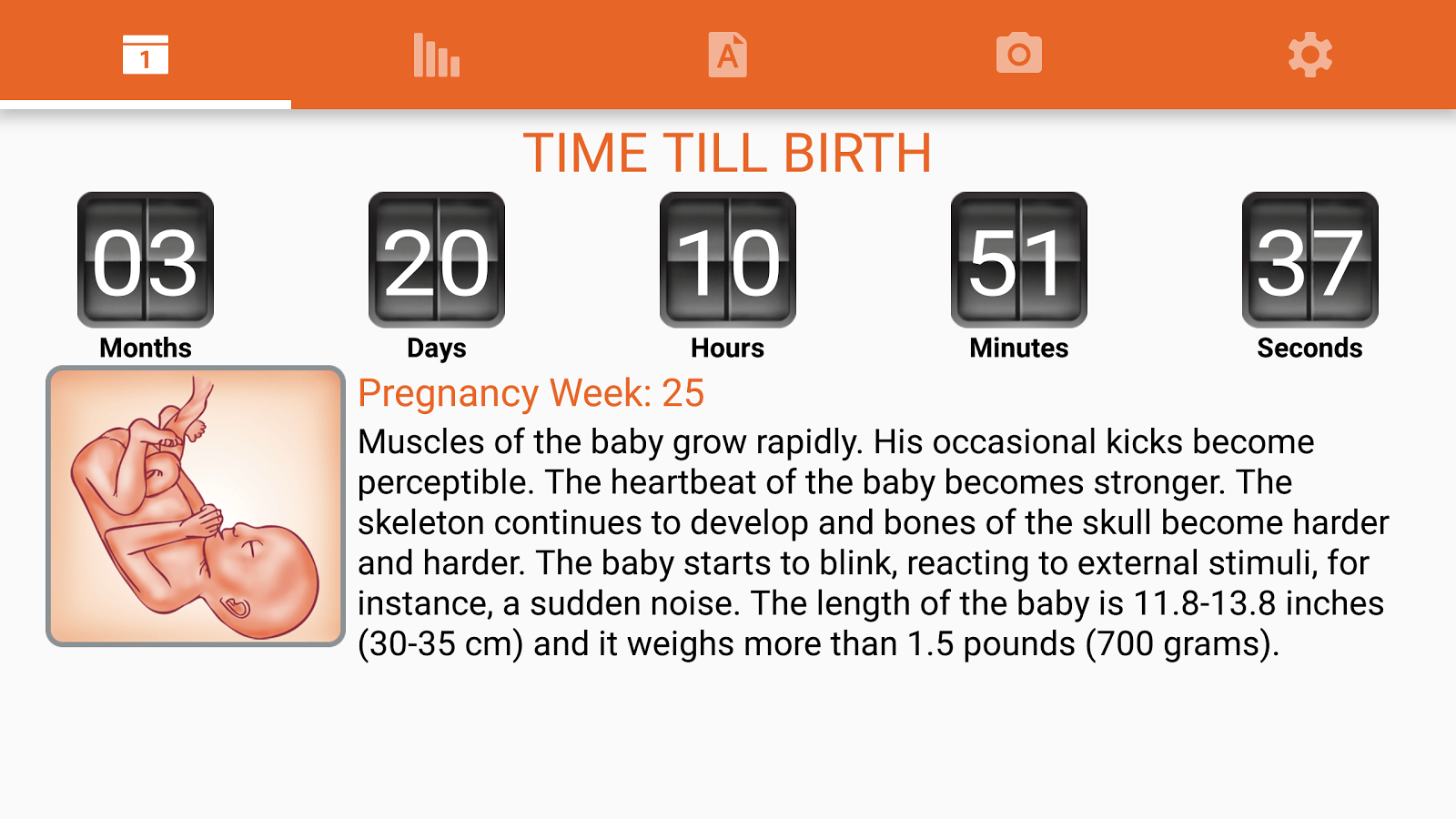 WomanLog Pregnancy Pro Screenshot 7
