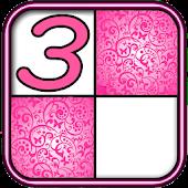 Pink Piano Tiles 3 APK for Bluestacks