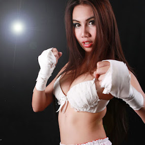 Fighter by Pom Wanchart - Sports & Fitness Boxing