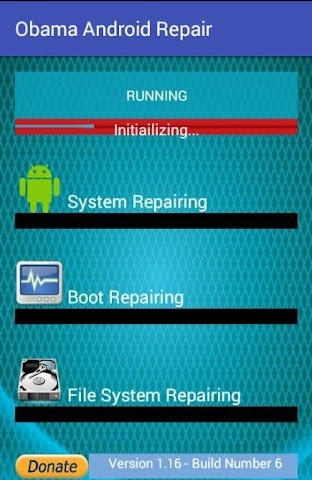 android Obama Android Repair Screenshot 1