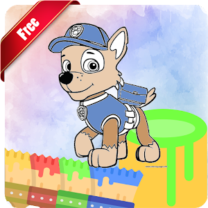 Coloring Book Paw Puppy Patrol