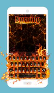 Burning Animated Keyboard APK for Lenovo