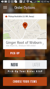 Ginger Root of Woburn - screenshot