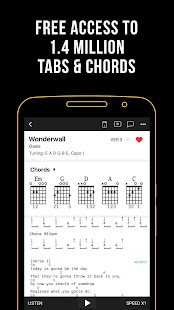 Ultimate Guitar: Chords & Tabs for pc