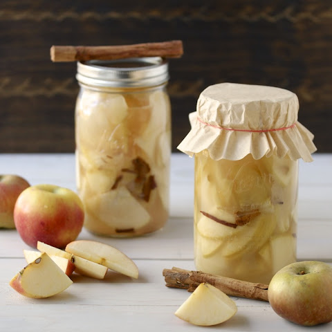 Lacto-Fermented Cinnamon Apples