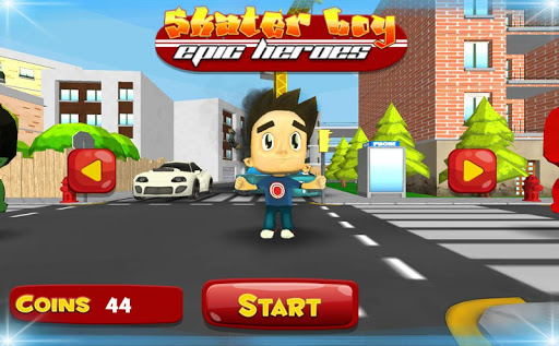 Skater Boy Epic Heroes screenshot 1