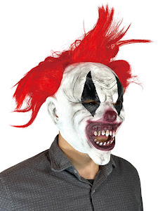 "Маска карнавальня Клоун 2, серия ""Хеллоуин"""