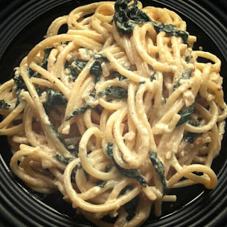 Burnt Butter Pasta with Spinach & Parmesan