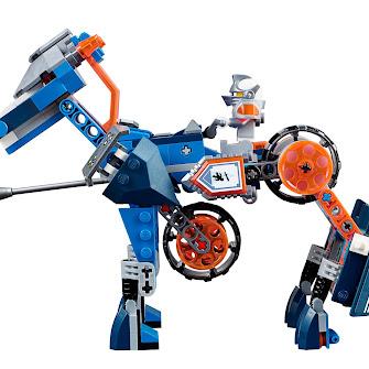 Ланс и его механический конь