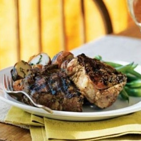 Gluten – Free Herbes de Provence-Crusted Lamb Chops