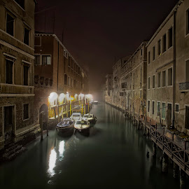 Venice by Budiman Cengko - Buildings & Architecture Other Exteriors ( water, building, boats, venice, italy )