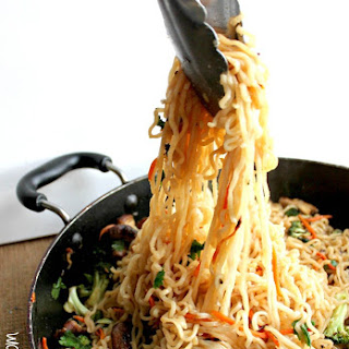 Ramen Vegetable Stir Fry