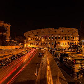Colloseum by Night, Rome by Ketan Vikamsey - Buildings & Architecture Public & Historical ( wonderful places, lonelyplanet, lonelyplanetmagazineindia, natgeohd, worldphotographicforum, italia turismo, canon, fotorbit, natgeo, kv kliks, discovery, natgeotravel, colourful places, colloseum, travel the world pix, bbctravels, rome by night, ketan vikamsey, italy, night photography )