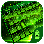 Free Green Light Typany Keyboard APK for Windows 8
