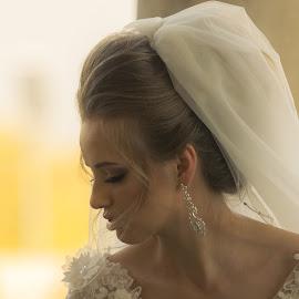 Sensuality by Dimache  Stefan - Wedding Bride ( girl, 70-200, romania, nikon, bride )