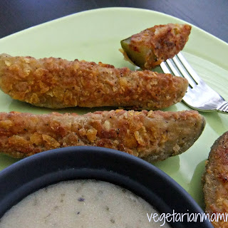 Pan Fried Pickles – #glutenfree #vegan