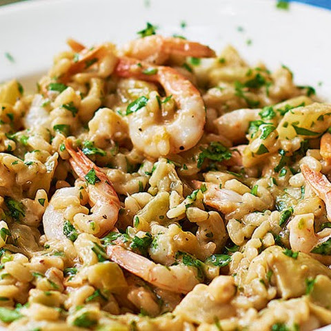 Fennel And Prawn Risotto