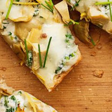Spinach-Artichoke Pizza