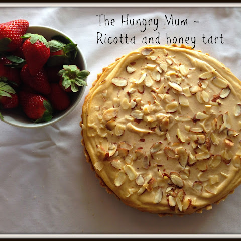 Ricotta And Honey Tart – A Perfect Dessert
