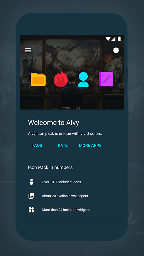 Aivy - Icon Pack Screenshot 1